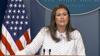 Download White House press briefing following President Donald Trump's remarks about NFL flag protests Video