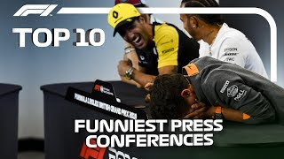 Download Top 10 Funniest F1 Press Conferences! Video