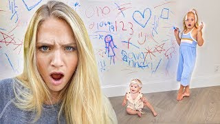 Download Everleigh and Posie Destroyed Our Wall... Can't Believe We Pranked Savannah Again!!! Video