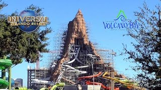 Download Volcano Bay Construction November 2016 - Universal's Water Park - Full Size Volcano Update Video