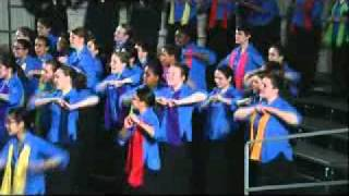 Download Young People's Chorus of New York City - ″Riki Tiki Tavi″ by Faraualla Video