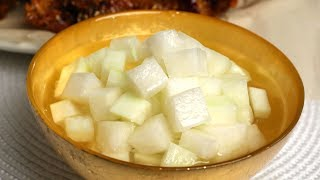 Download Chicken-mu (Pickled radish: 치킨무) Video