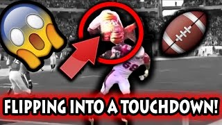 Download Best Flipping Touchdowns in Football History (NFL) Video