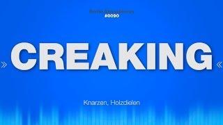 Download Creaking - SOUND EFFECT - Creaky Floorboards Knarzen - SOUND Video