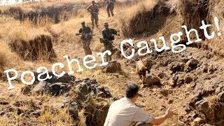 Download Poacher Caught! Anti-Poaching Unit Sniffs Out The Bad Guy Video