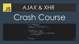 Download AJAX Crash Course (Vanilla JavaScript) Video
