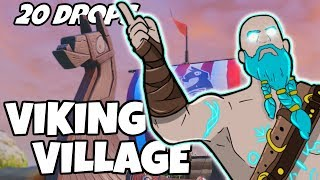 Download I Dropped Viking Village 20 Times And This Is What Happened (Fortnite) Video