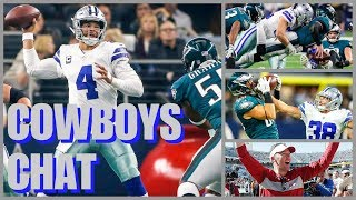 Download COWBOYS CHAT: Breaking Down The Eagles; Injury Issues vs Philly; Jerry Intrigued By Another Coach??? Video