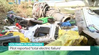 Download Colombia Plane Crash: Pilot told control tower they ran out of fuel Video