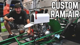 Download Ram Air Intake from a MAILBOX! 670 Drag Rail Build Video
