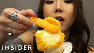 Download We Tried Cheetos Soft Serve Ice Cream Video