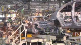 Download The Factory Robots Building The Toyota Camry Hybrid Video