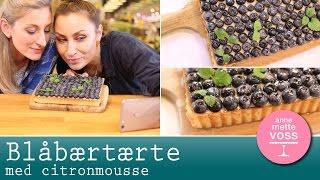 Download BLÅBÆRTÆRTE med citronmousse med Szhirley | Annemettes Bageskole Video