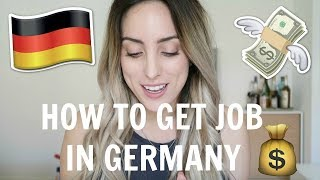 Download HOW TO FIND A JOB IN GERMANY! (No German/ Non EU) Video