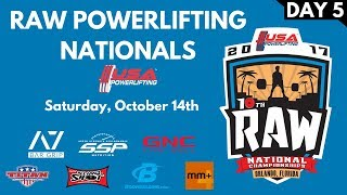 Download Saturday (Multiview) - 2017 USA Powerlifting Raw Nationals Video
