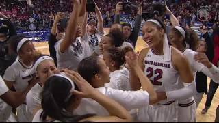 Download Gamecock Women's Basketball Celebrates 2017 SEC Tournament Title — 3/5/17 Video