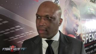 Download Spence trainer on Brook ″Not as good as he thought he was. He's a fat guy that likes to eat″ Video