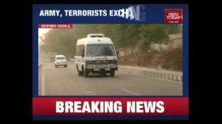 Download Breaking : Terrorists Attack Army Unit In Nagrota Area Of Jammu & Kashmir Video