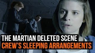 Download The Martian deleted scene - Hermes crew discuss sleeping arrangements Video