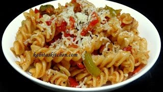 Download Vegetable Cheesy Pasta Recipe-Indian Style Pasta-Easy and Delicious Pasta rceipe Video