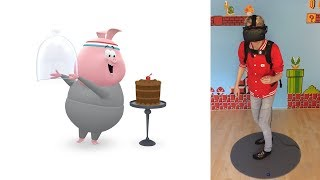 Download THE MIGHTY QUEST FOR DELICIOUS CAKE! | Google Spotlight Stories: Piggy (HTC Vive + Subpac Gameplay) Video
