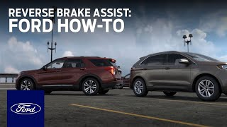 Download Reverse Brake Assist | Ford How-To | Ford Video