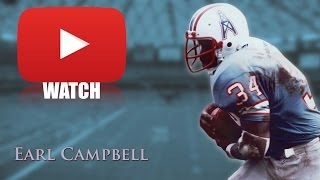 Download Earl Campbell || ″The Human Wrecking Ball″ || Career Highlights (HD) Video