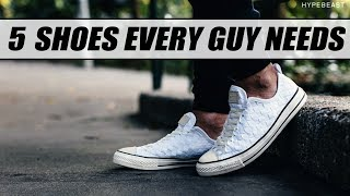 Download 5 Shoes Every Guy NEEDS to OWN   Must Have Sneakers for Men   Mayank Bhattacharya Video