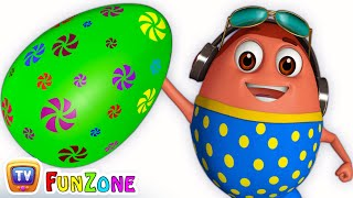 Download Learn GREEN Colour with Johny Johny Yes Papa | Surprise Eggs Colours Ball Pit Show | ChuChuTV 3D Fun Video