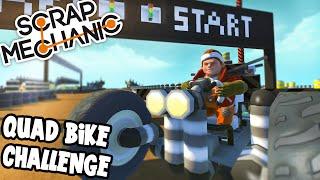 Download Scrap Mechanic! - QUAD BIKE CHALLENGE! Vs AshDubh - [#35] | Gameplay | Video