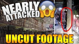 Download NEARLY ATTACKED WHILE EXPLORING AN ABANDONED JAIL (NOT CLICKBAIT!) Video