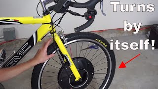 Download The Self-Propelled Bike Wheel! You Never Have to Pedal Your Bike Again! Video