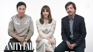 Download Rogue One Cast Explains Star Wars Characters | Vanity Fair Video