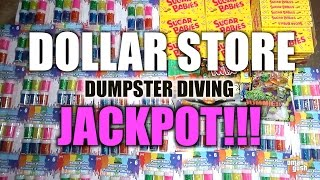 Download Dumpster Diving Jackpot At Dollar Store - Brand New Stuff! Video