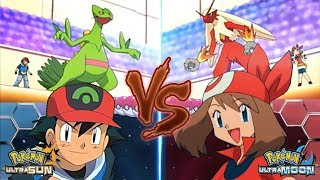 Download Pokemon Battle USUM: Ash Vs May (May Vs Ash Hoenn) Video