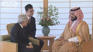 Download 天皇陛下に「サウジアラビア訪問」 副皇太子が招待(16/09/01) Video