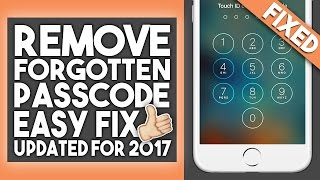 Download How To Bypass/Remove Forgotten Passcode - iPhone, iPad, iPod Touch - iOS 10 - 2017 - Easy and Free Video