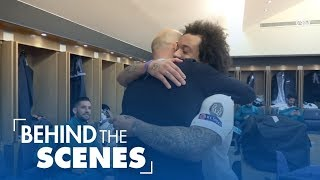 Download RONALDO, MARCELO, RAMOS and their teammates take you through our victory in Paris against PSG Video