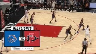 Download Boise State vs. San Diego State Basketball Highlights (2018-19) | Stadium Video