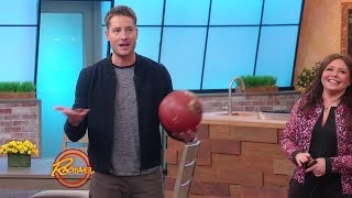 Download Watch Justin Hartley Play Hoops and Perform Dares Video