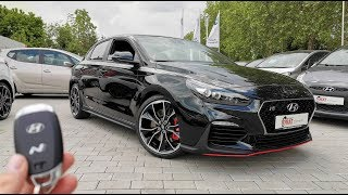 Download 2019 Hyundai i30N Fastback Performance /// EXHAUST pops, START up & Interior Video