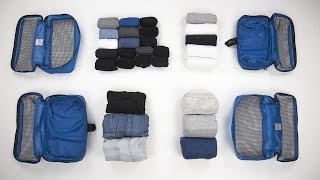 Download 6 AMAZINGLY Compact Ways to Fold Clothes for Packing PART TWO Video