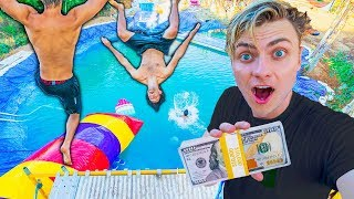 Download BEST WATER PARK TRICK WINS $10,000 (ft Funk Bros) Video