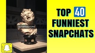 Download THE TOP 40 FUNNIEST SNAPCHAT PHOTOS EVER!! Video