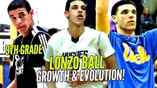 Download Lonzo Ball's Evolution Through The Years! SKINNY 9th Grader To Potential #1 Pick in NBA Draft! Video