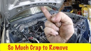 Download Ford 5.4 3V Timing Getting it Stripped Down Video