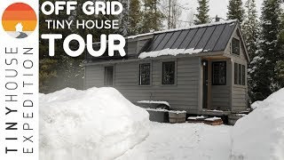 Download Off-Grid Tiny House TOUR: Fy Nyth Nestled in Wyoming Mountains Video