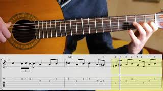 Download W. A. Mozart - Rondo alla Turca (Turkish March), guitar,notes,tabs Video