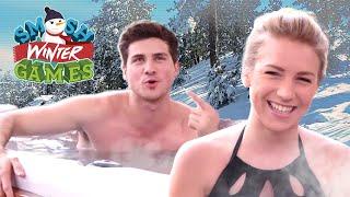Download HOT TUB TRUTH OR DARE (Smosh Winter Games) Video