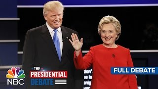 Download The First Presidential Debate: Hillary Clinton And Donald Trump (Full Debate) | NBC News Video